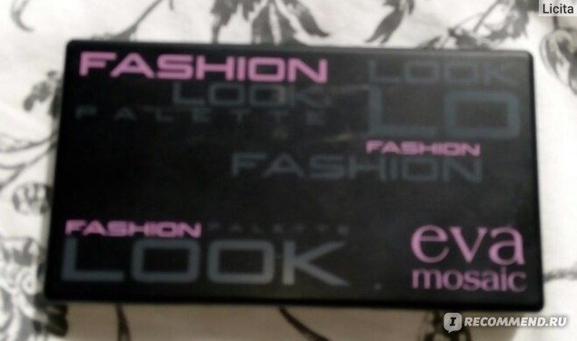 Палетка теней Eva Mosaic Fashion Look фото