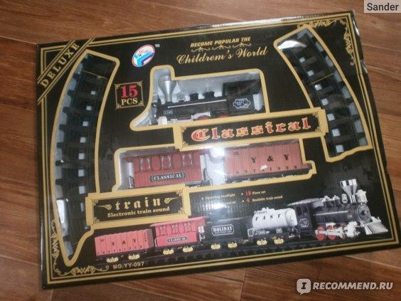 Железная дорога в упаковке
