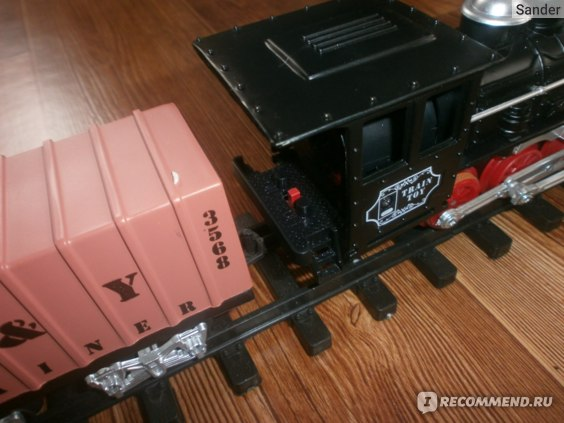 Deluxe Classical Железная дорога в наборе 15шт., BOX, арт. YY-097. фото