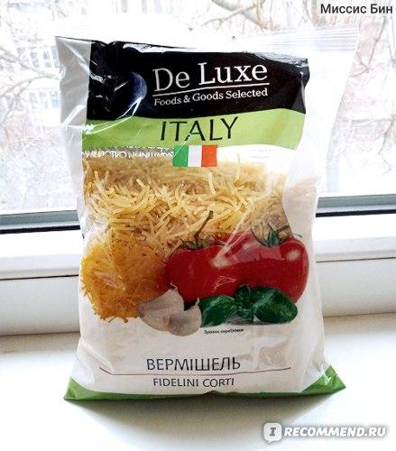 """Вермишель De Luxe Foods&Goods Selected """"Экстра"""" фото"""