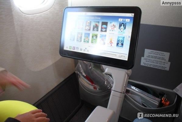 Авиакомпания Emirates Airlines фото