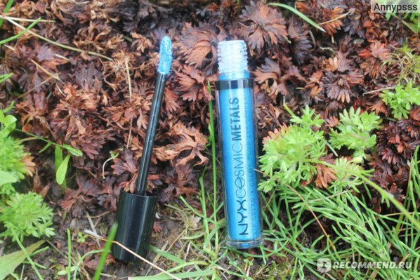 Жидкая губная помада NYX Cosmic Metals Lip Cream фото
