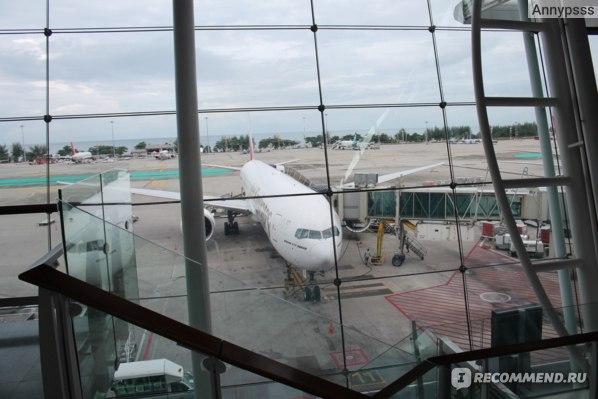 Самолёт рейса Пхукет-Дубай