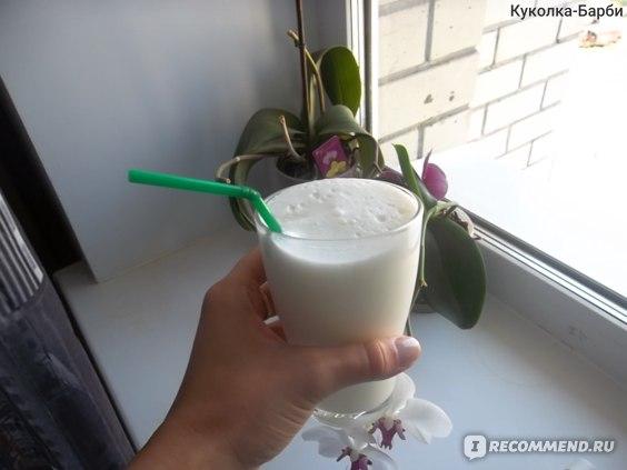 Молочный коктейль из блендера
