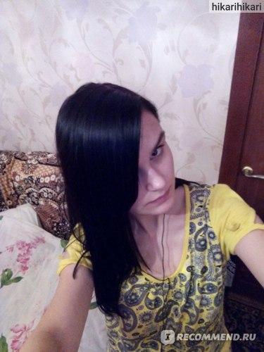 волосы сразу после покраски