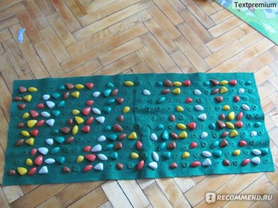 Массажный (ортопедический) коврик Onhillsport Дорожка для детей с камнями  фото
