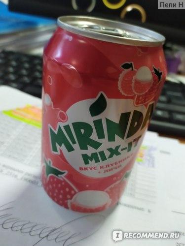 Газированная вода Mirinda Mix It со вкусом клубники и личи фото