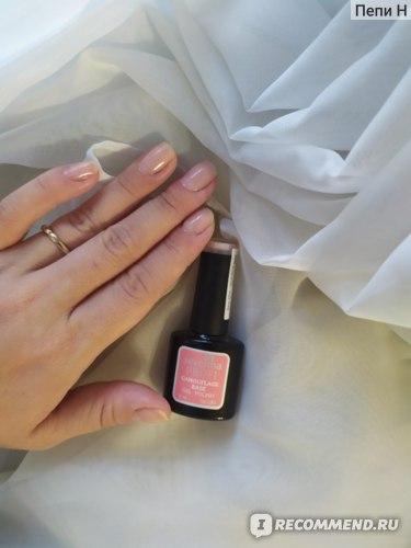 Камуфляжное базовое покрытие для гель-лака Severina  фото