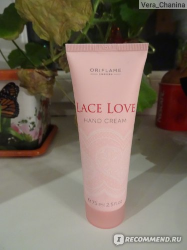Крем для рук Oriflame Lace Love фото