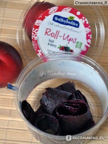Пастила Healthy Tradition «Roll Ups ягодная» отзыв