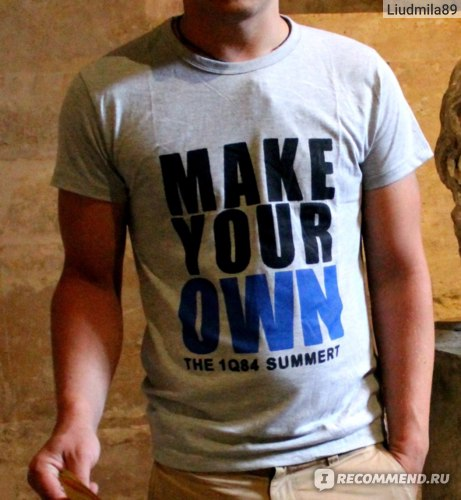 Футболка AliExpress   2014 new 100% brand cotton men t-shirts t shirt for Lovers printed fashion short sleeve t-shirt Accept customized Free shipping фото