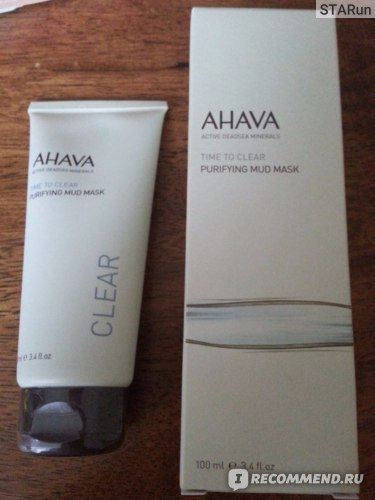 Маска для лица AHAVA Purifying Mud Mask фото