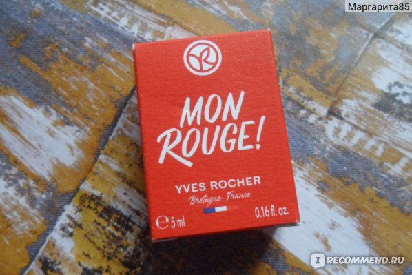 Ив Роше / Yves Rocher Mon Rouge фото