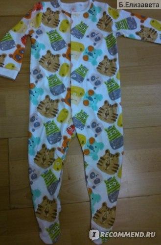 Пижама Next Набор из трех ярких пижам с животными (0 мес. - 2 года) 801-394 фото