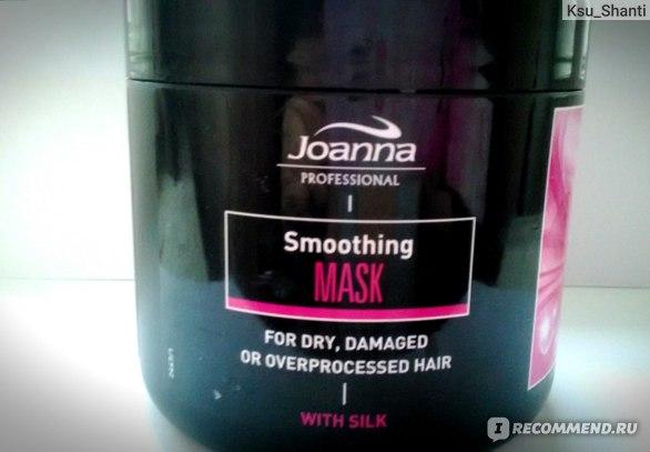 Восстанавливающая маска для волос Joanna With silk фото