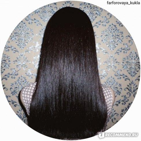 Волосы ПОСЛЕ окрашивания длина