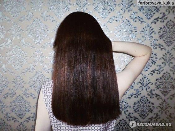 Волосы ДО окрашивания длина