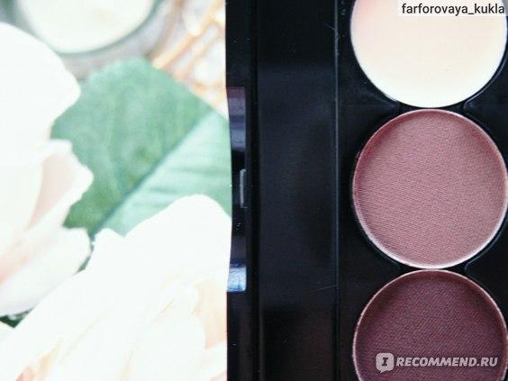 абор для стилизации и макияжа бровей Eveline All In One Eyebrow set  отзыв