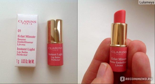 Бальзам для губ Clarins-стик Eclat Minute фото