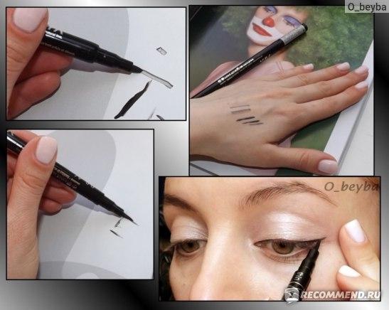Подводка-фломастер для глаз Essence 2 in 1 eyeliner pen фото