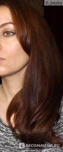волосы после маски Кафе Красоты «Интенсивное восстановление»
