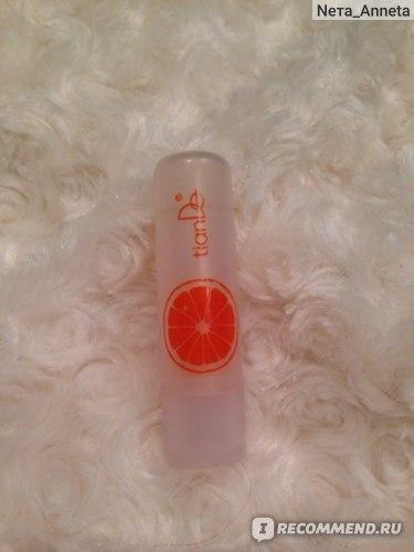 Бальзам для губ TianDe фруктовый orange апельсиновый фото