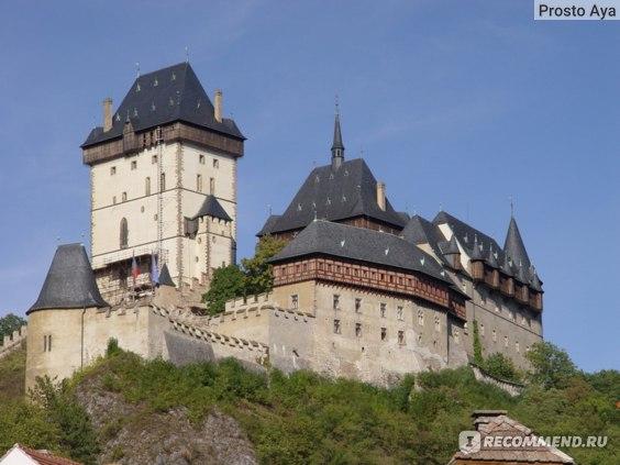 Чехия, замок Карлштейн фото