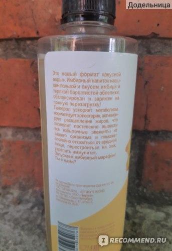 Безалкогольный напиток Bioteka «GINGER КОМПОТ» с имбирём и облепихой фото