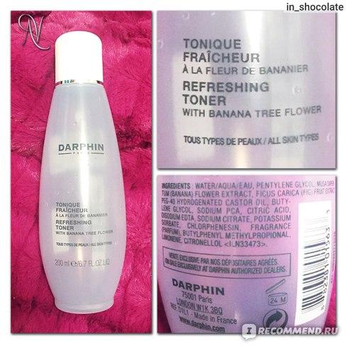 Освежающий тоник для нормальной кожи Darphin Refreshing Toner with banana tree flower фото
