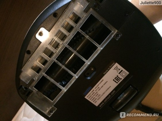 Пылесос с контейнером для пыли ZeFresh ZeFresh  VCZ 100 фото