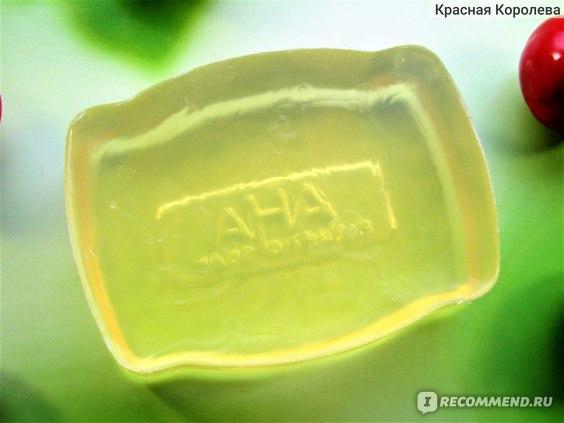 Мыло-пилинг для лица сужающее поры BCL Sensitive  c фруктовыми кислотами фото
