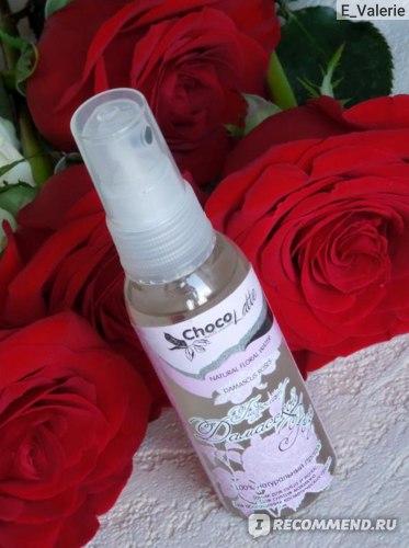 Гидролат ChocoLatte Дамасской розы фото