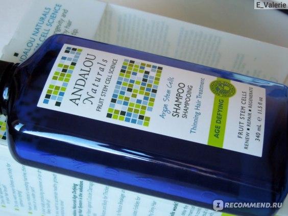 Шампунь Andalou Naturals  Shampoo, Argan Stem Cells, Thinning Hair Treatment фото