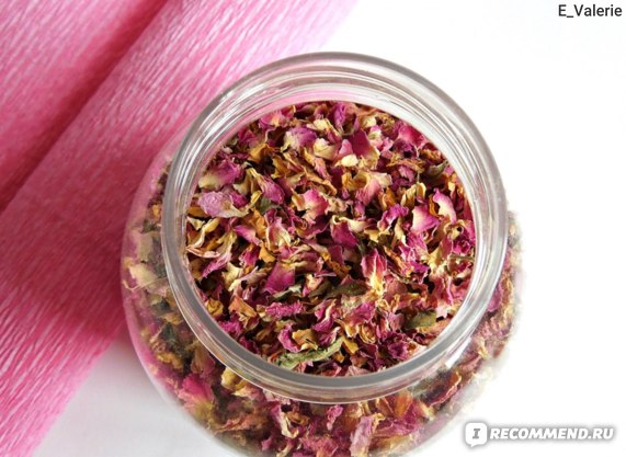 Натуральный Крымский травяной чай - Роза