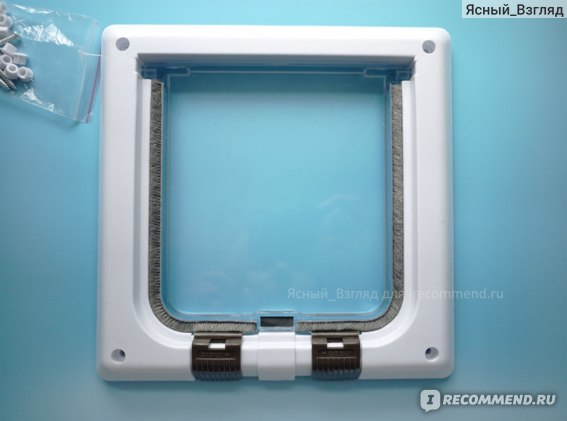 Передняя рама с прозрачной дверцей
