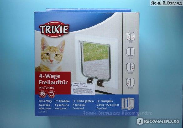 Дверка для животных Trixie 4 позиции фото