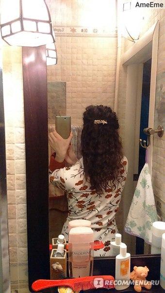 Вот так выглядели мои волосы где - то в апреле - начале мая