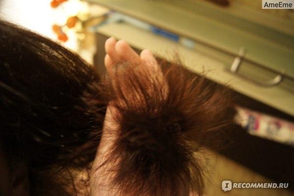 Волосы стали более жесткие, укладывать их гораздо легче