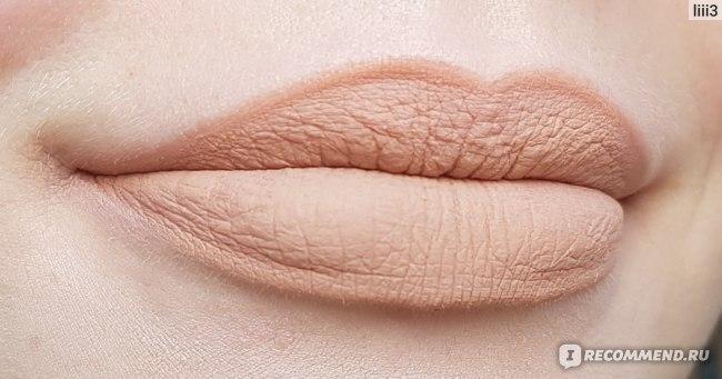 Матовая помада для губ KIKO Less Is Better Matte Lipstick фото
