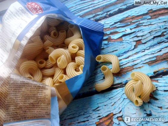 Макаронные изделия Grand di pasta Cavatappi фото