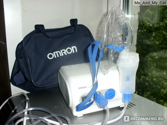 Компрессорный небулайзер (ингалятор) OMRON CompAir NE-C28 RU фото