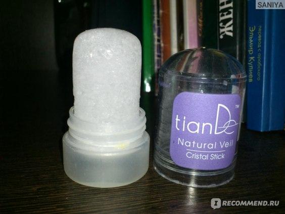 Део-кристалл TianDe Кристальный дезодорант Natural Veil фото