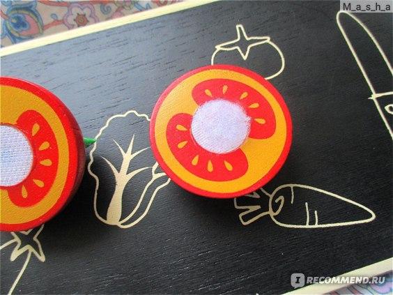Wonderworld Игровой набор Овощи на досточке фото
