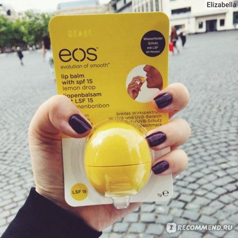 Бальзам для губ EOS lip balm фото