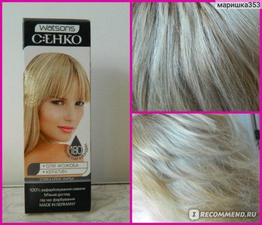 Краска для волос C:EHKO Стойкая крем-краска С:ЕНКО фото