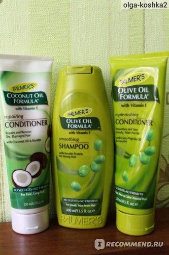 Шампунь Palmer's Olive Oil Formula Smoothing Shampoo 400ml фото