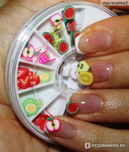 Aliexpress Набор для дизайна ногтей Фимо 120pcs FIMO Slice фото