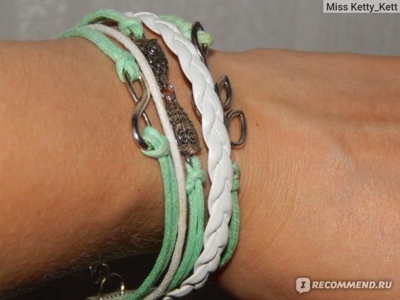 Браслет Aliexpress Juegos del Hambre vintage birds owls anchor bracelet wrap leather bracelet charm bracelets pulseira couro bracelets for women фото
