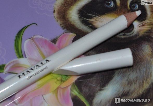 Отбеливающий карандаш для французского маникюра Mavala Crayon Blanc Pour Les Ongles фото