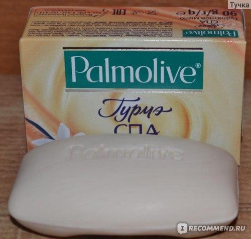 Мыло  Palmolive Гурмэ Спа Французская Ваниль фото
